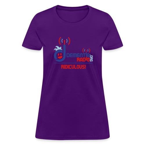 dementiaradiotshirt edit - Women's T-Shirt