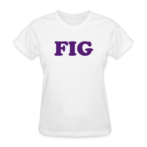 Fig Fruitee - Women's T-Shirt
