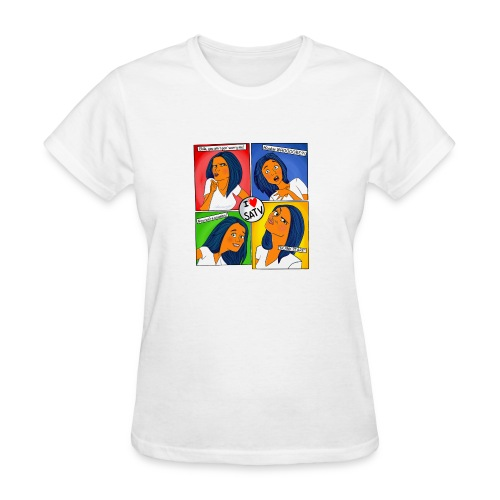 faces - Women's T-Shirt