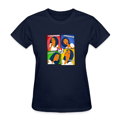 faces - Women's T-Shirt