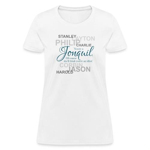 JonquilIdiotTransparent png - Women's T-Shirt