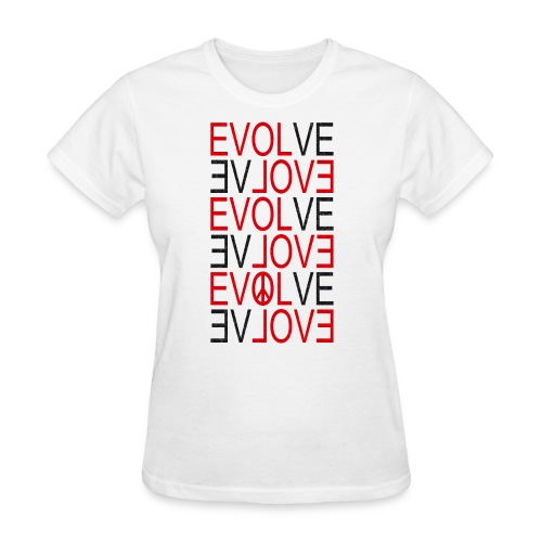 Evolve black - Women's T-Shirt
