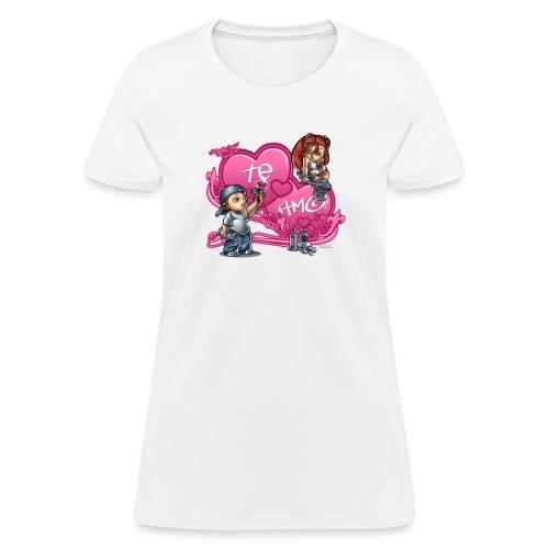 Te Amo by RollinLow - Women's T-Shirt