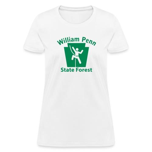 William Penn State Forest Keystone Hiker - Women's T-Shirt