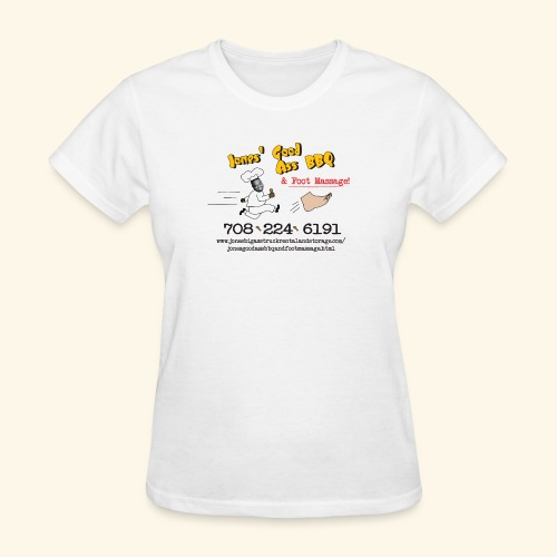 Jones Good Ass BBQ and Foot Massage logo - Women's T-Shirt