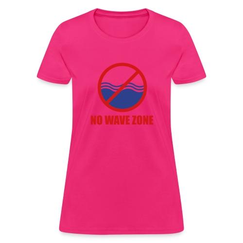 nowavezone - Women's T-Shirt
