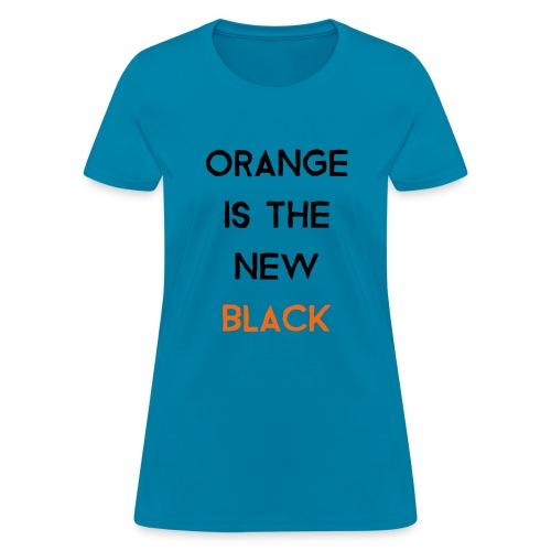 (orange2) - Women's T-Shirt