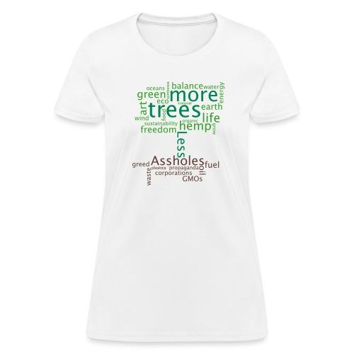 tree1mon - Women's T-Shirt