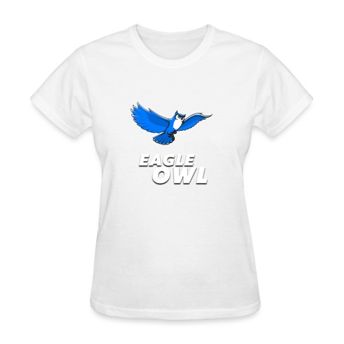 owlflyingblue - Women's T-Shirt