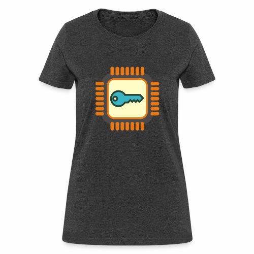 Micro Crypto Chip - Women's T-Shirt
