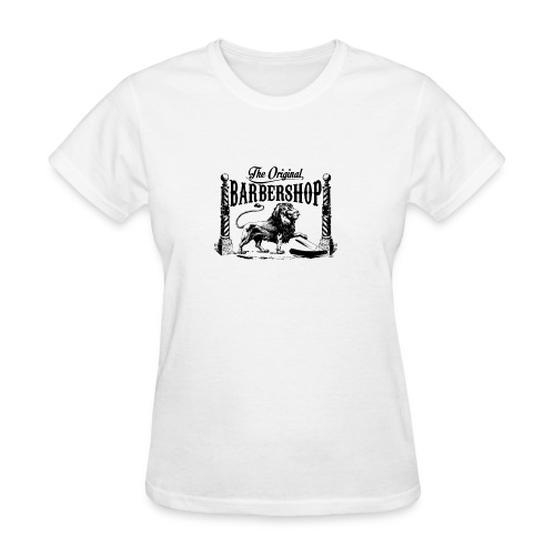 The Original Barbershop - Women's T-Shirt
