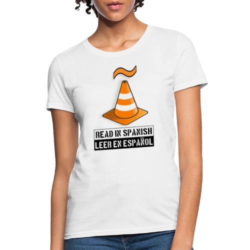 Read in Spanish - Women's T-Shirt