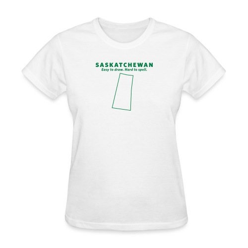 Saskatchewan - Women's T-Shirt