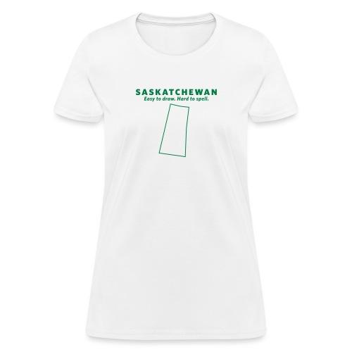 Saskatchewan - Women's T-Shirt