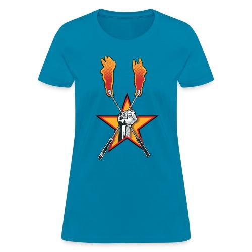 fisttorchlogo - Women's T-Shirt