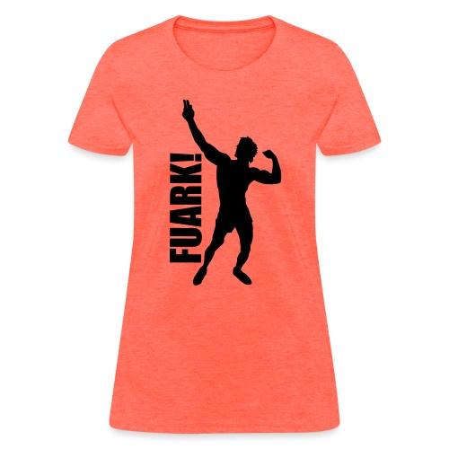 Zyzz Silhouette FUARK - Women's T-Shirt
