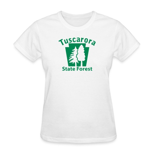 Tuscarora State Forest Keystone (w/trees) - Women's T-Shirt