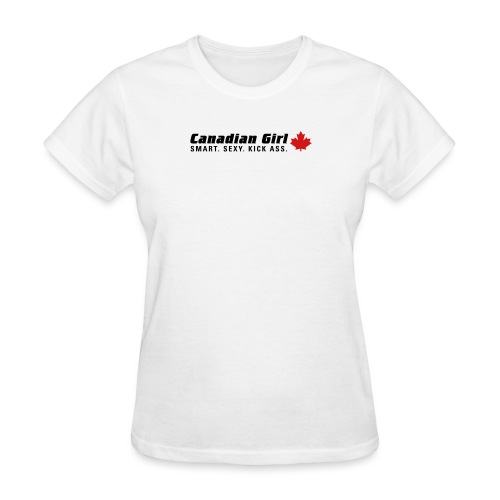 Canadian Girl - Women's T-Shirt