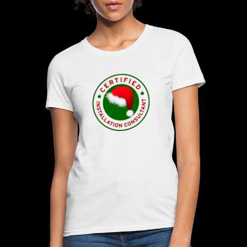 Christmas Lights R Us Emblem - Women's T-Shirt