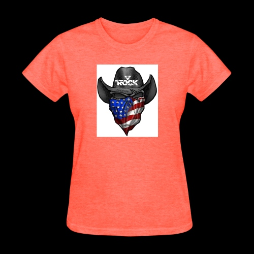 Eye rock cowboy Design - Women's T-Shirt