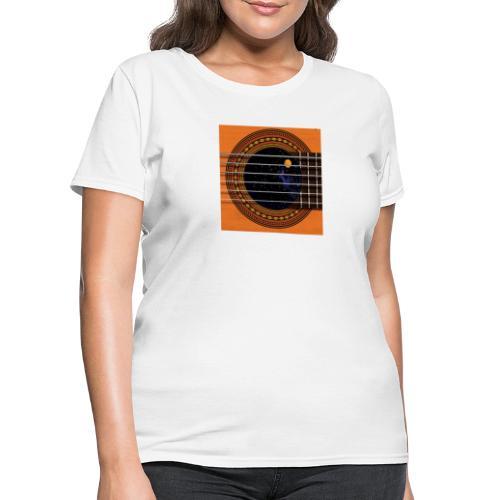 Cool Guitar Soundhole - Women's T-Shirt