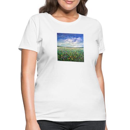Field of Flowers - Women's T-Shirt
