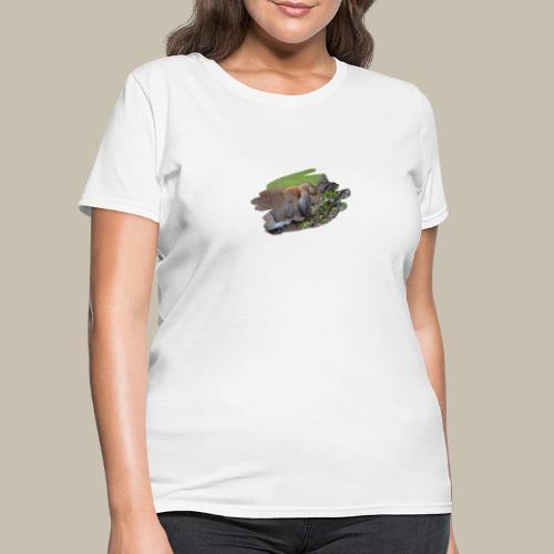 French Lop Brush Stroke - Women's T-Shirt