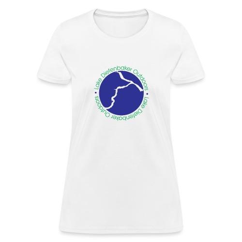 LDO WHITE LOGO - Women's T-Shirt