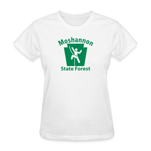 Moshannon State Forest Keystone Climber - Women's T-Shirt