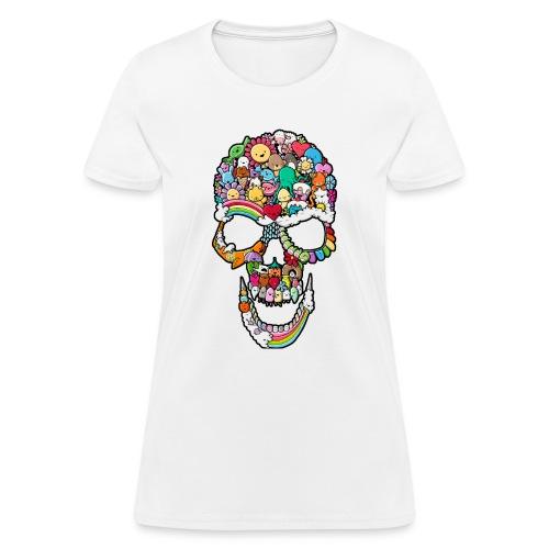Sweet Skull - Women's T-Shirt