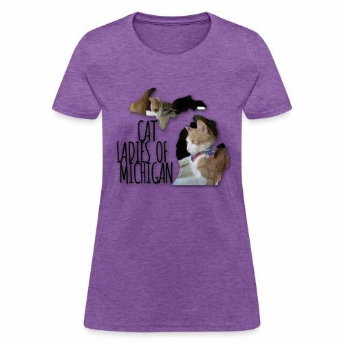 Cat Ladies of Michigan - Women's T-Shirt
