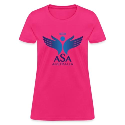 3459 Angelman Logo AUSTRALIA FA CMYK - Women's T-Shirt
