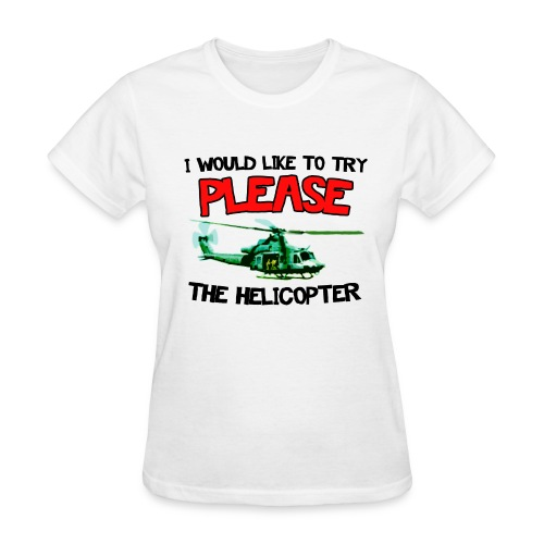 Please the Helicopter Women's T-Shirts - Women's T-Shirt