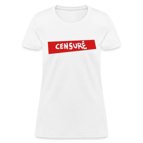Censuré - Women's T-Shirt