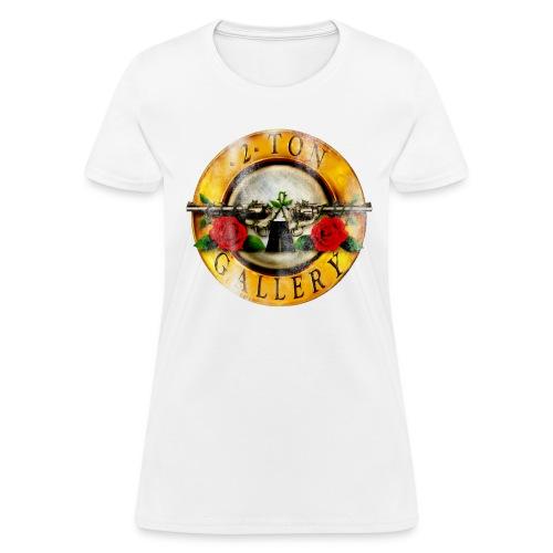 2tonrosesdistressed - Women's T-Shirt