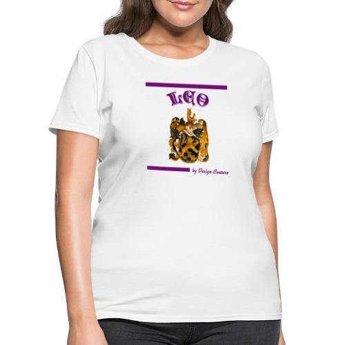 LEO PURPLE - Women's T-Shirt