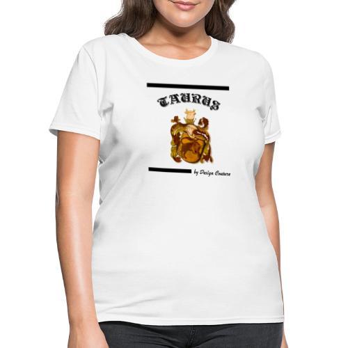 TAURUS BLACK - Women's T-Shirt