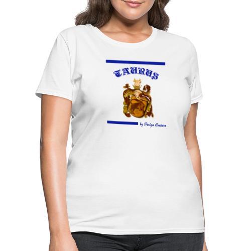 TAURUS BLUE - Women's T-Shirt