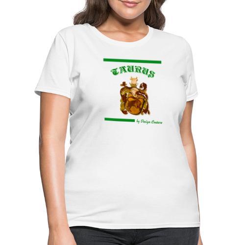 TAURUS GREEN - Women's T-Shirt