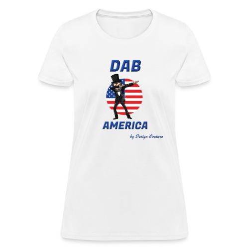 DAB AMERICA BLUE - Women's T-Shirt