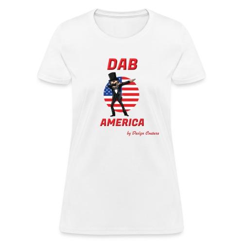 DAB AMERICA RED - Women's T-Shirt