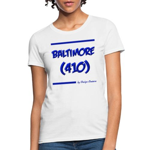 BALTIMORE 410 BLUE - Women's T-Shirt