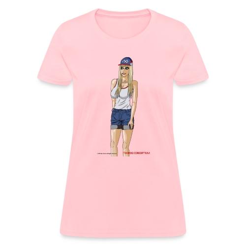 Gina Character Design - Women's T-Shirt