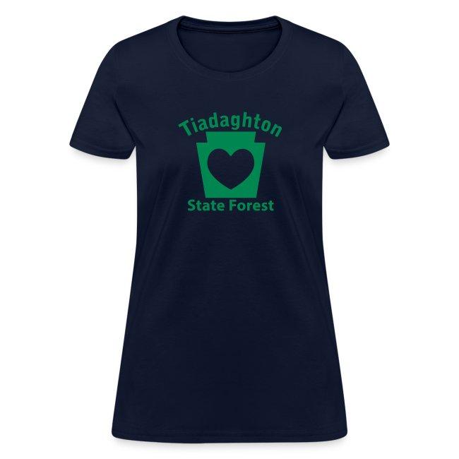 Tiadaghton State Forest Keystone Heart