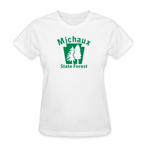 Michaux State Forest Keystone (w/trees) - Women's T-Shirt