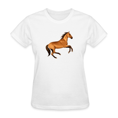 horse riding - Women's T-Shirt