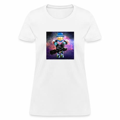 sean roblox character with minigun - Women's T-Shirt