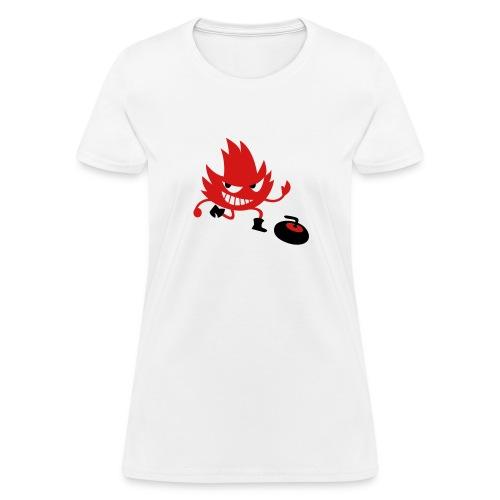 Leif Curling - Women's T-Shirt