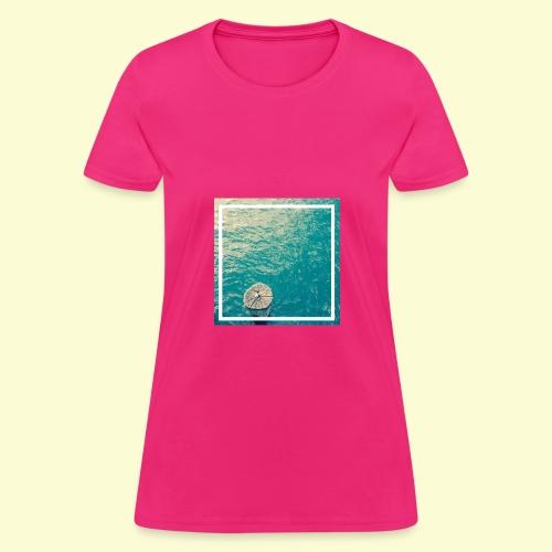 Framed ocean print - Women's T-Shirt