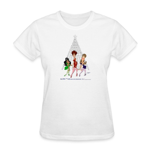 A TURKEY LURKEY CHRISTMAS TO YOU New - Women's T-Shirt